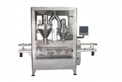 Double-head-powder-filling-machine